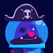 Space Pirate Vs. Alien Lobster Icon