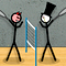 Stick Figure Badminton 2 Icon