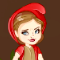 Red Girl In The Woods Icon