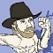Chuck Norris Ninjas Icon