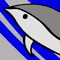 Cat on a Dolphin Icon