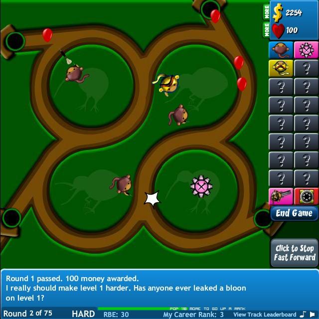 Bloons tower defense 4 super mario girls car free online flash games