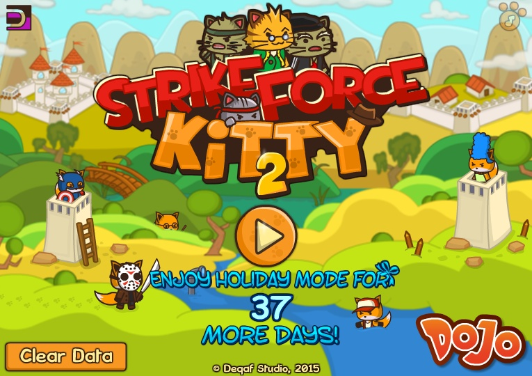 Strikeforce kitty 2 hacked cheats hacked online games