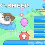 Chuck the Sheep Screenshot