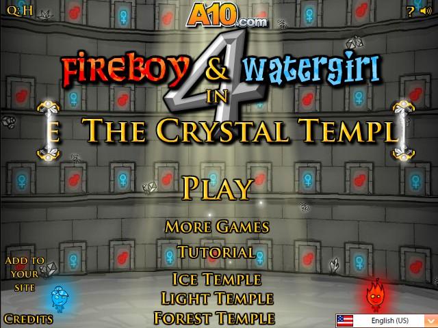 Fireboy & Watergirl 5 Elements - Cool Math Games