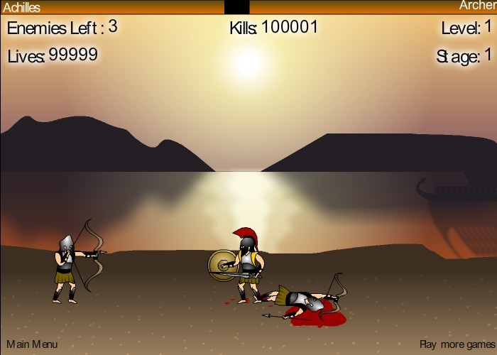 achilles the online game