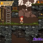 Red Girl In The Woods Screenshot