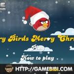Angry Birds Merry Christmas Screenshot