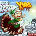Effing Worms Xmas Screenshot