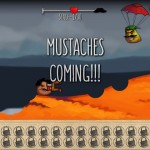 Mustache Attack Screenshot