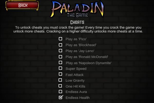 the paldin code essay