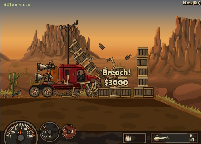Earn to die hacked cheats hacked online games