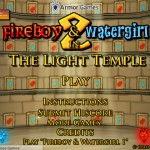FireBoy and WaterGirl 2 - The Light Temple Screenshot