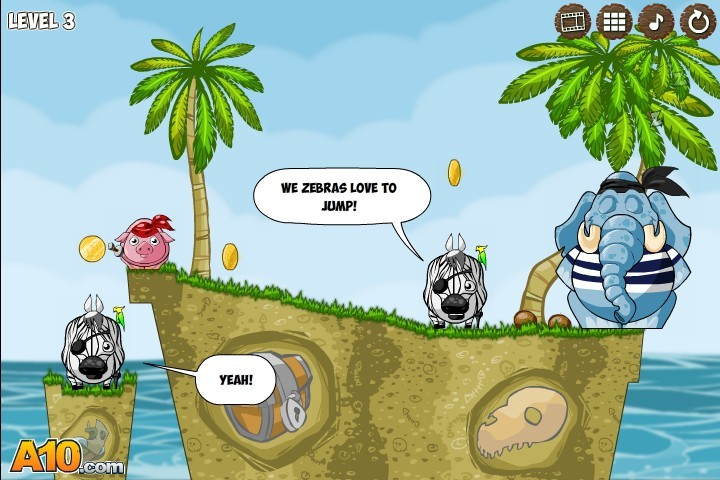 Snoring 3. Treasure Island | Kizi - Online Games - Life Is Fun!