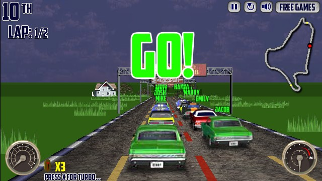 V Muscle Cars Game Hacked