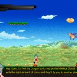 DragonBall Z Platform Screenshot