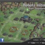 Robots Initiate Work Sequence Screenshot