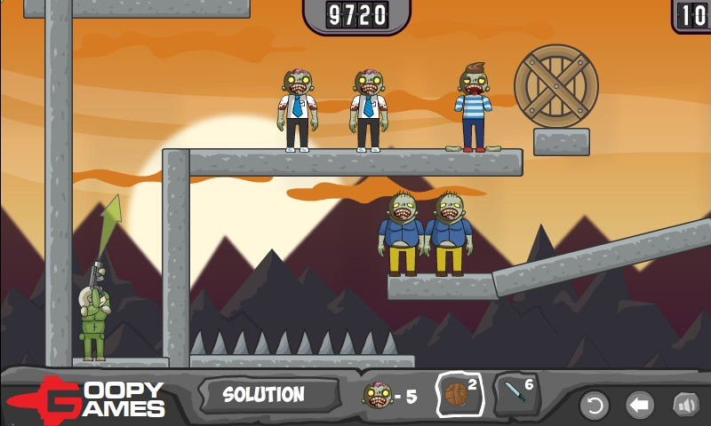 balloons vs zombies hacked cheats hacked online games