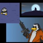 Zombies vs Penguins Screenshot