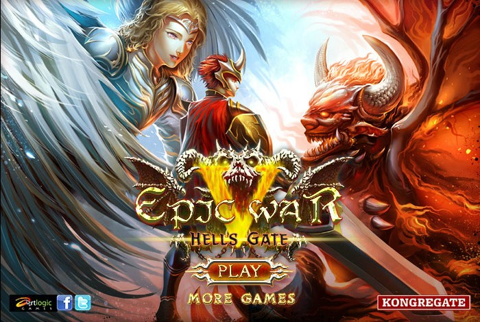 Epic war 5 hells gate hacked cheats hacked online games