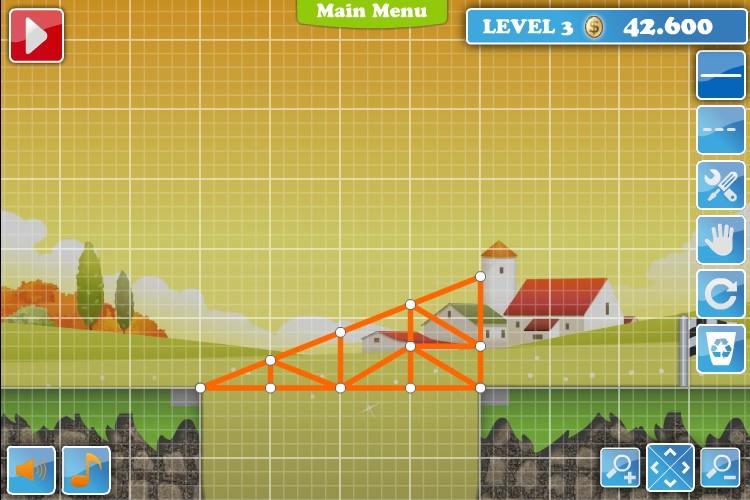 bridge builder game tips