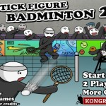 Stick Figure Badminton 2 Screenshot