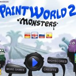PaintWorld 2 - Monsters Screenshot