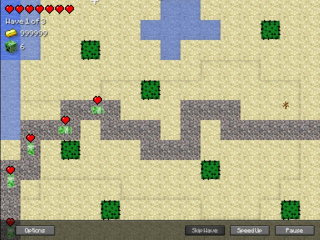 bloons tower defense in minecraft