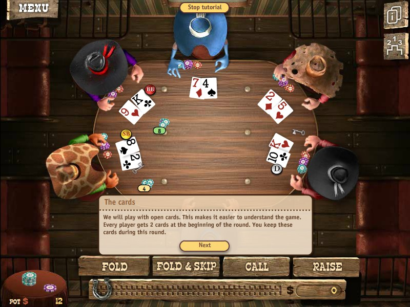play free governor of poker 2 game online