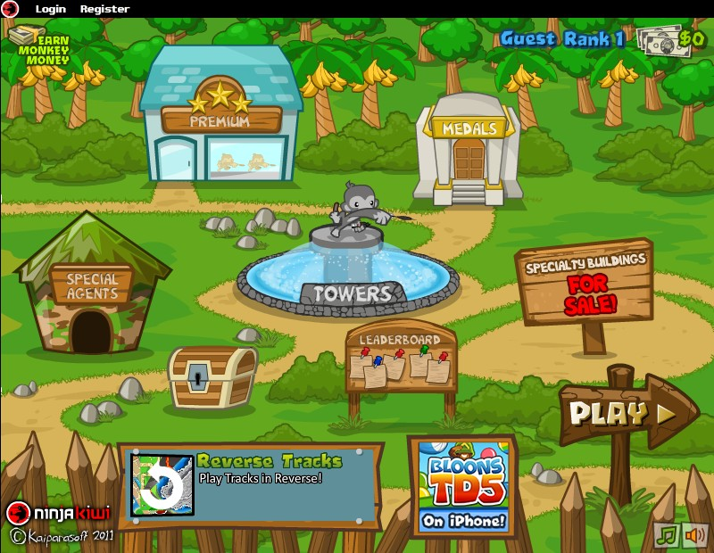 Bloons Tower Defense 5 Hacked / Cheats - Hacked Online Games