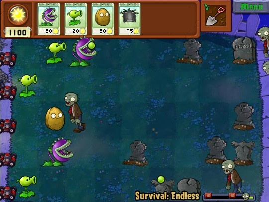 Plants vs Zombies HD Hacked / Cheats - Hacked Online Games
