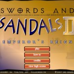 Swords and Sandals 2 - Emperors Reign Screenshot
