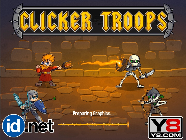 Clicker Troops Hacked / Cheats - Hacked Online Games