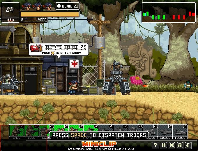 Commando: Rush Hacked / Cheats - Hacked Online Games