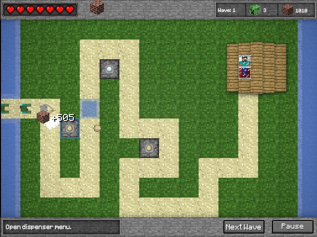 minecraft defense