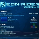 Neon Rider World Screenshot