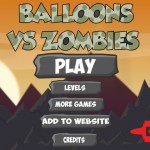 Balloons vs Zombies Screenshot
