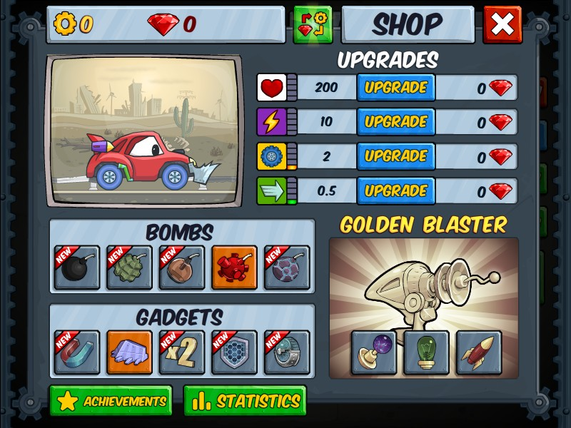 Cars Eat Cars  Deluxe Game