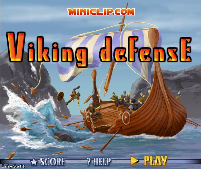 viking attack team building game free
