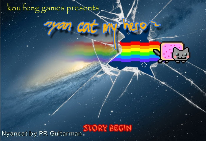Nyan Cat Hero 2 Screenshot