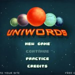 Uniwords Screenshot