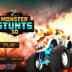 Monster Stunts 3D Screenshot
