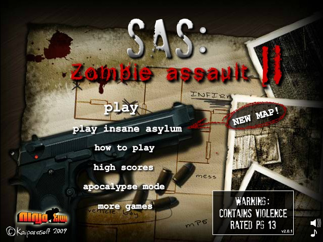 SAS: Zombie Assault 2 Hacked / Cheats  Hacked Online Games