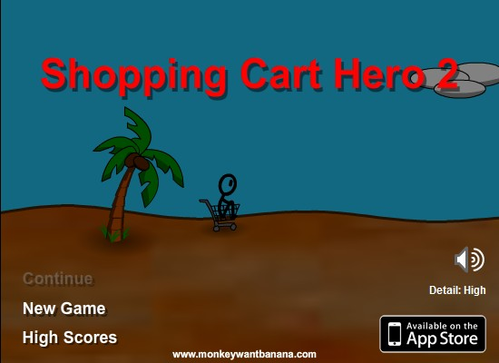 unblocked shopping cart hero