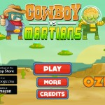 Cowboy vs Martians Screenshot