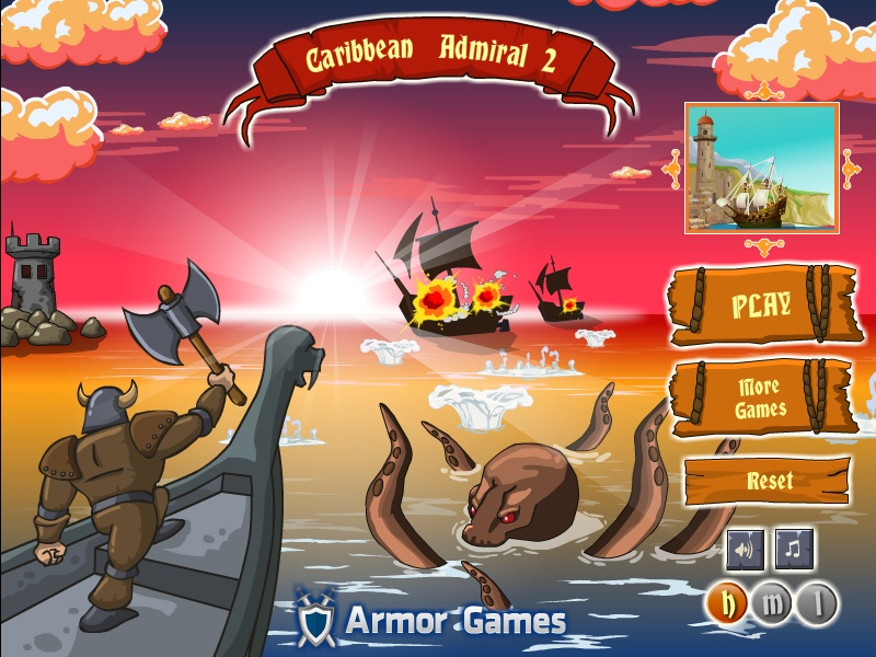 caribbean admiral online games