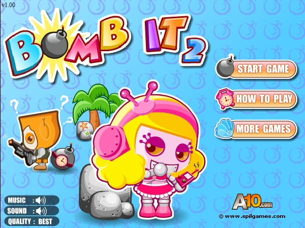 bomb it online game