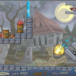 Roly-Poly Cannon: Bloody Monsters Pack 2 Screenshot