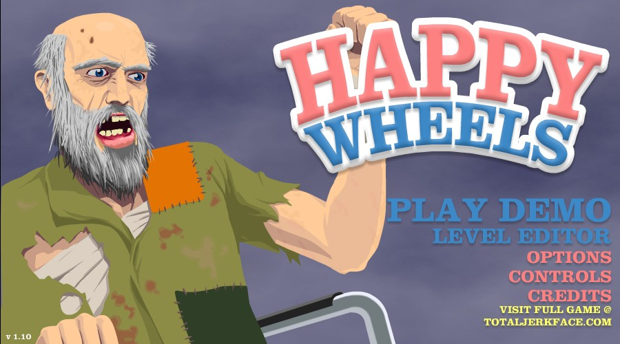 Happy Wheels Demo Hacked at Hacked Arcade Games