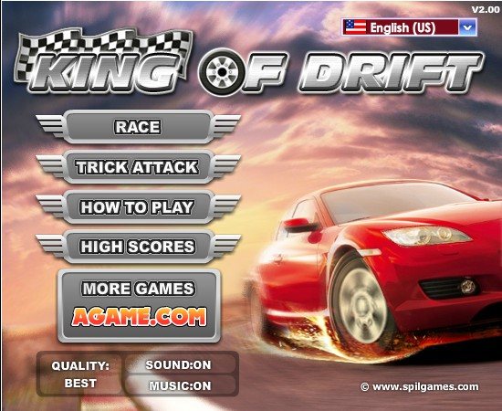 King of Drift Screenshot ...